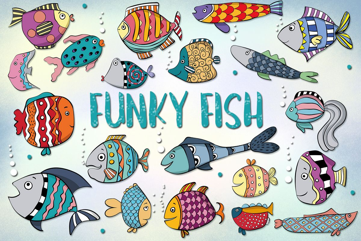 Funky Fish example image 1