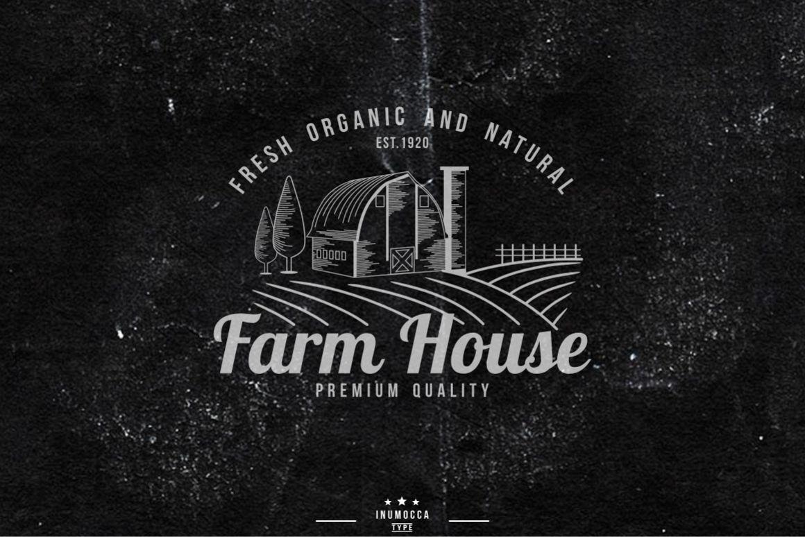 10 Farm Vintage (editable text) example image 1