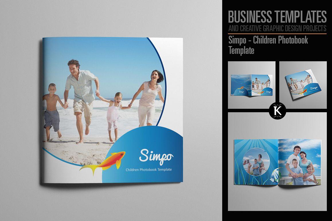 Simpo - Children Photobook Template example image 1