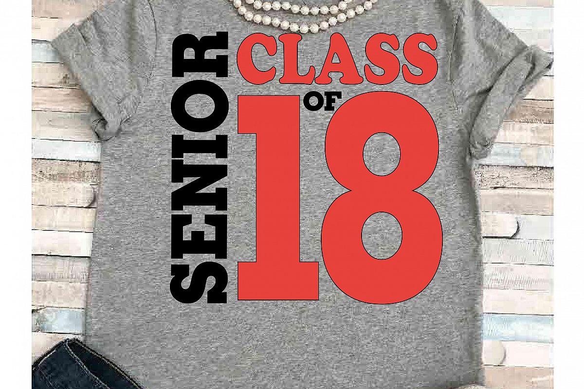 School svg SVG DXF JPEG Silhouette Cameo Cricut Graduate svg iron on  Graduation svg Class of 2018 svg