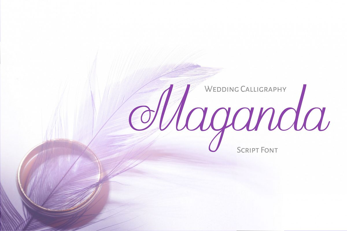 Maganda script example image 1