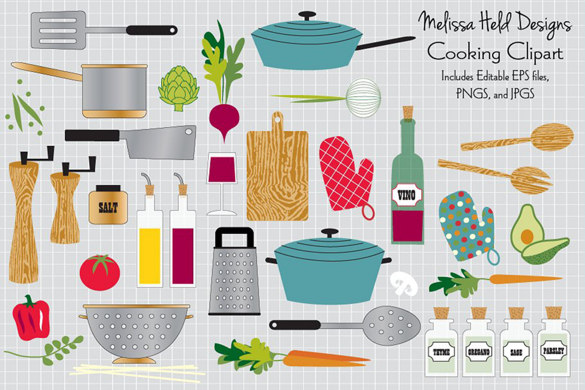 Cooking Clipart example image 1