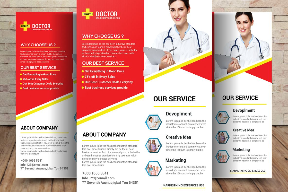 Doctor Flyer example image 1