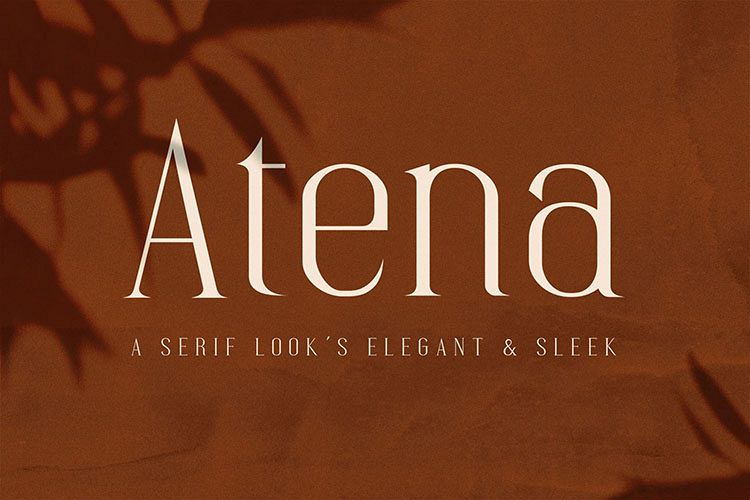 Atena - Serif Font example image 1