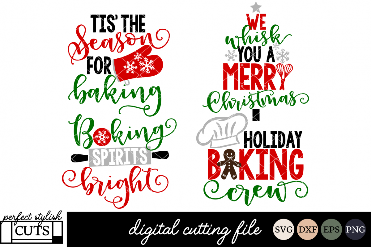 christmas baking svg bundle christmas svg files example image 1