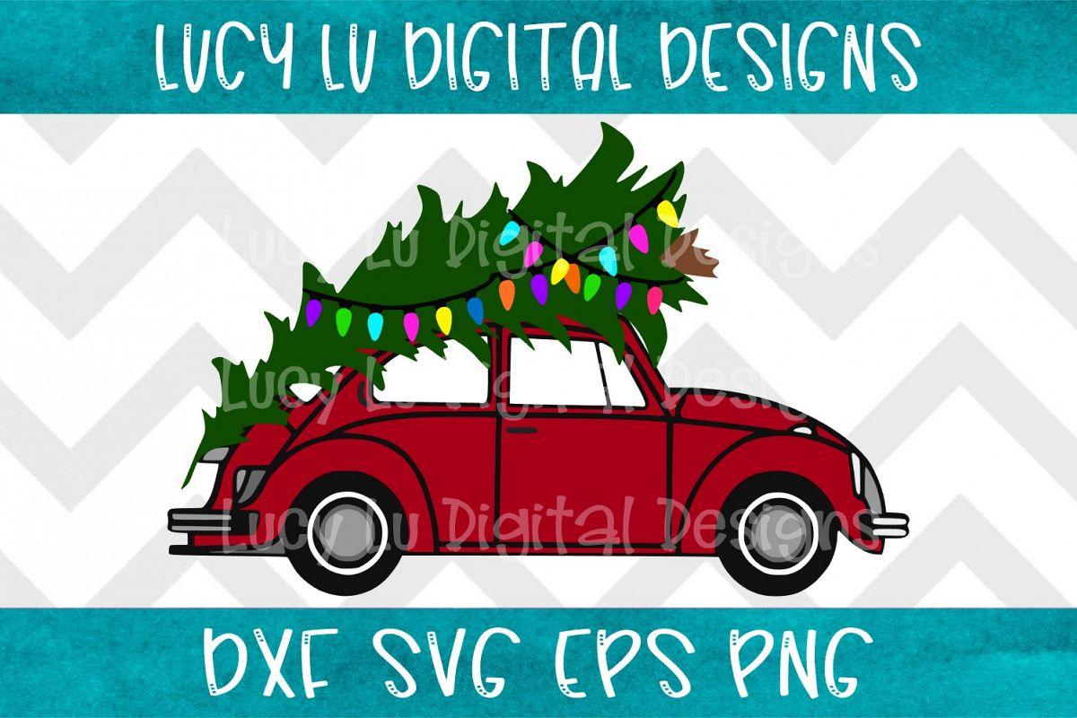 Christmas Tree Car example image 1