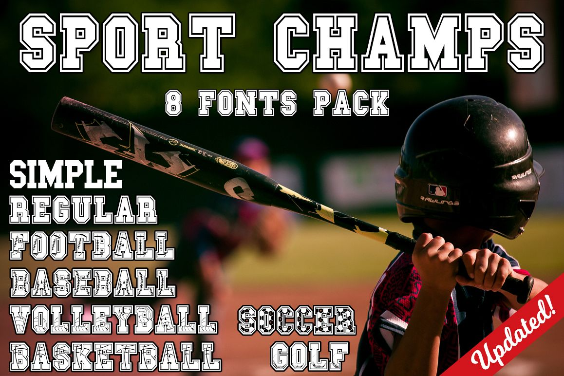The Sport Champs Font Pack example image 1