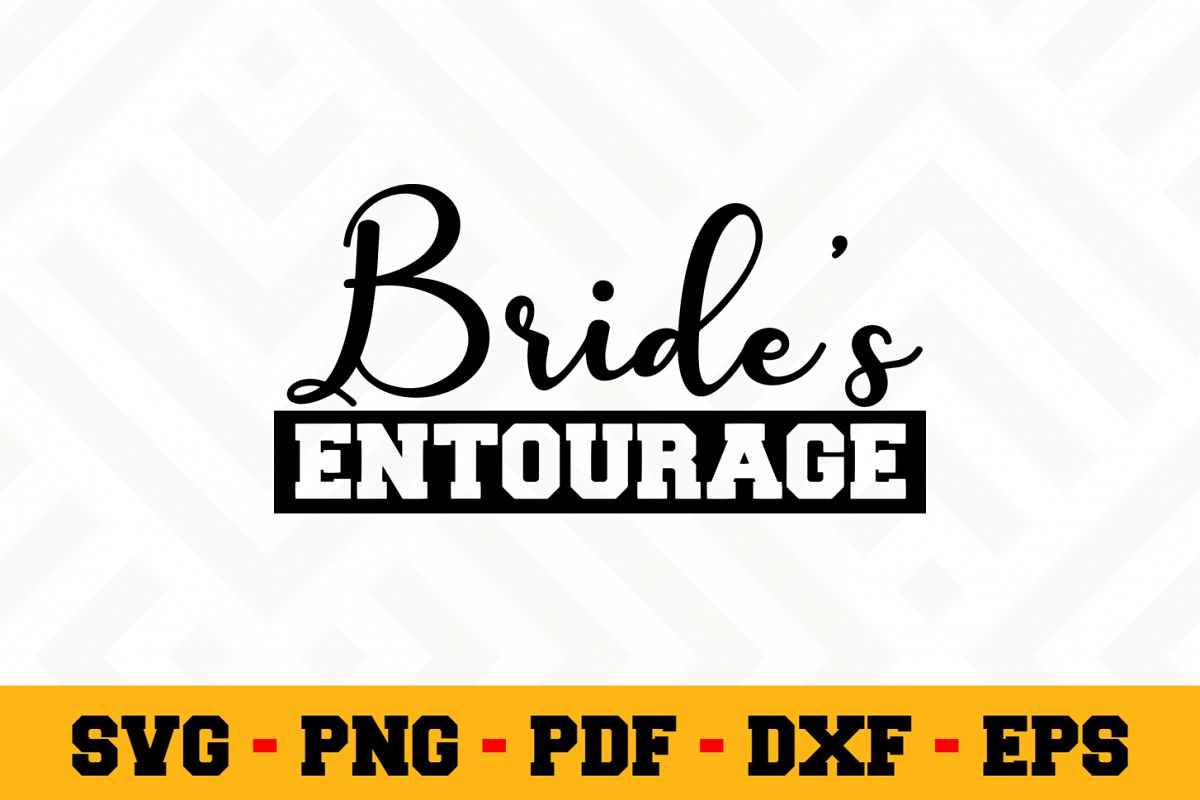 Bride SVG Design n629 | Wedding SVG Cut File example image 1