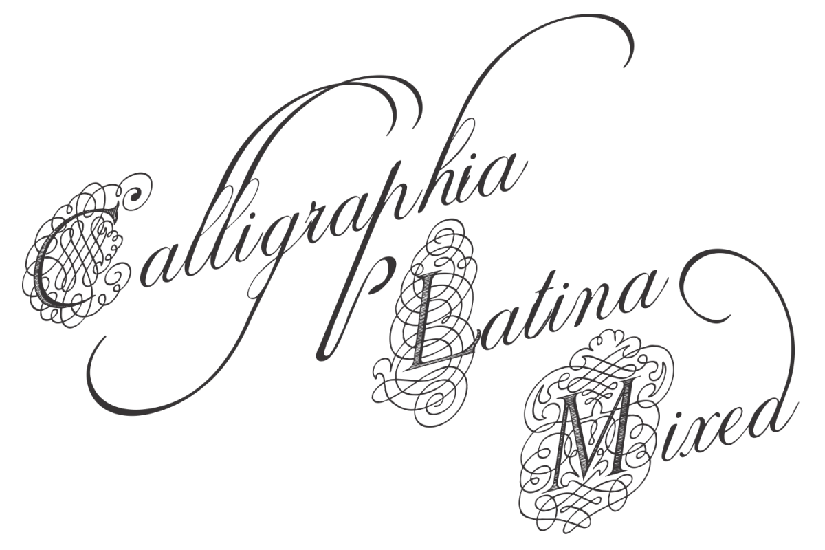Calligraphia Latina Mixed example image 1