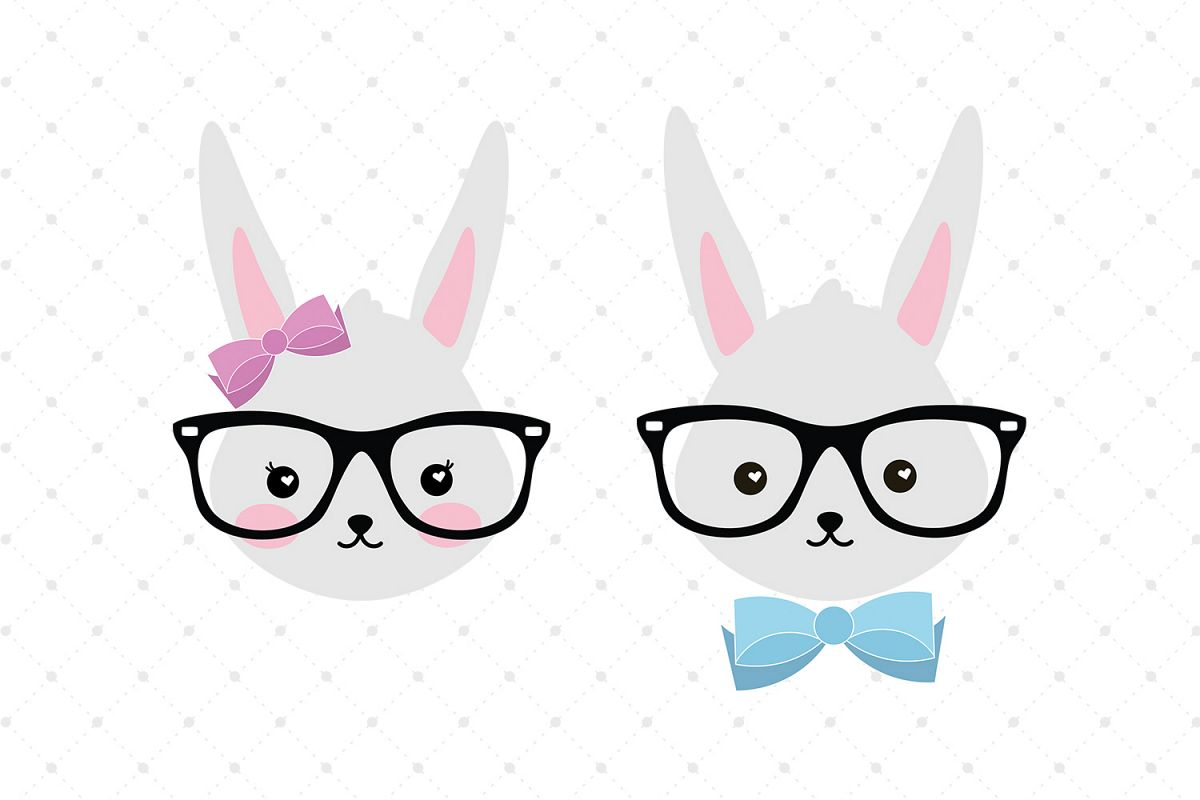 Bunny SVG Cut Files example image 1
