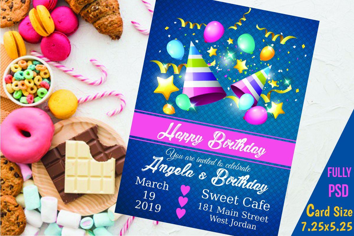 Birthday Invitation Card example image 1