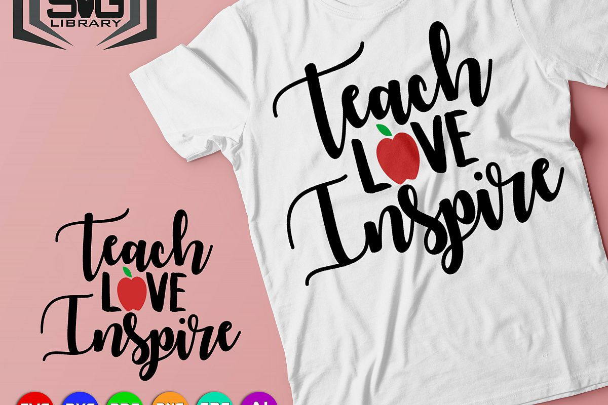 a54636c8 Teacher design SVG - Teacher shirt print svg - Teaching svg - Teacher gift  - School