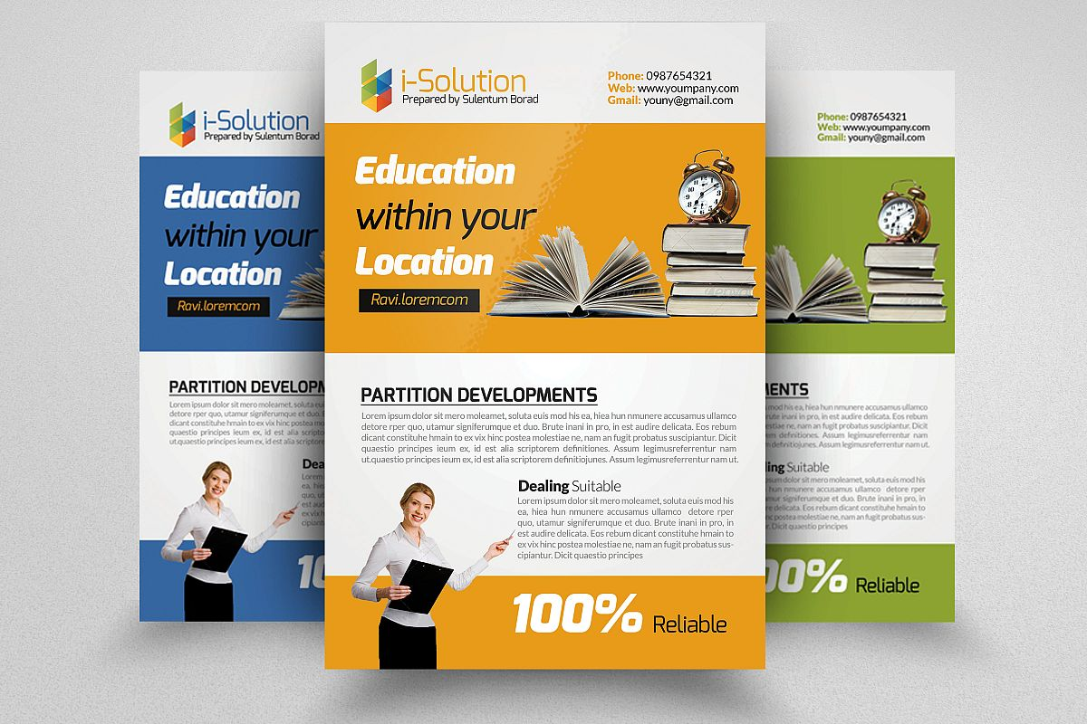 Education Flyer Template