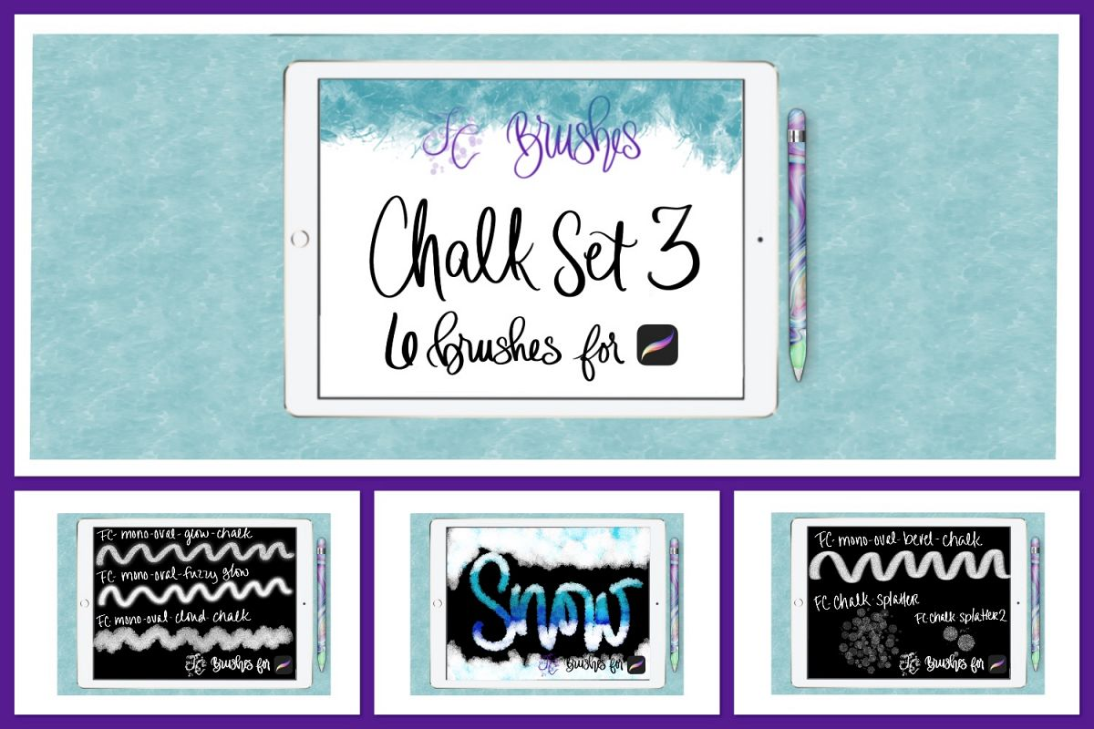 FC-chalk-set3 for PROCREATE