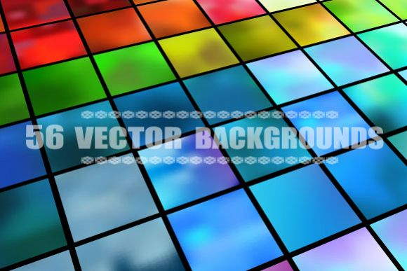 Set of 56 vector backgrounds example image 1