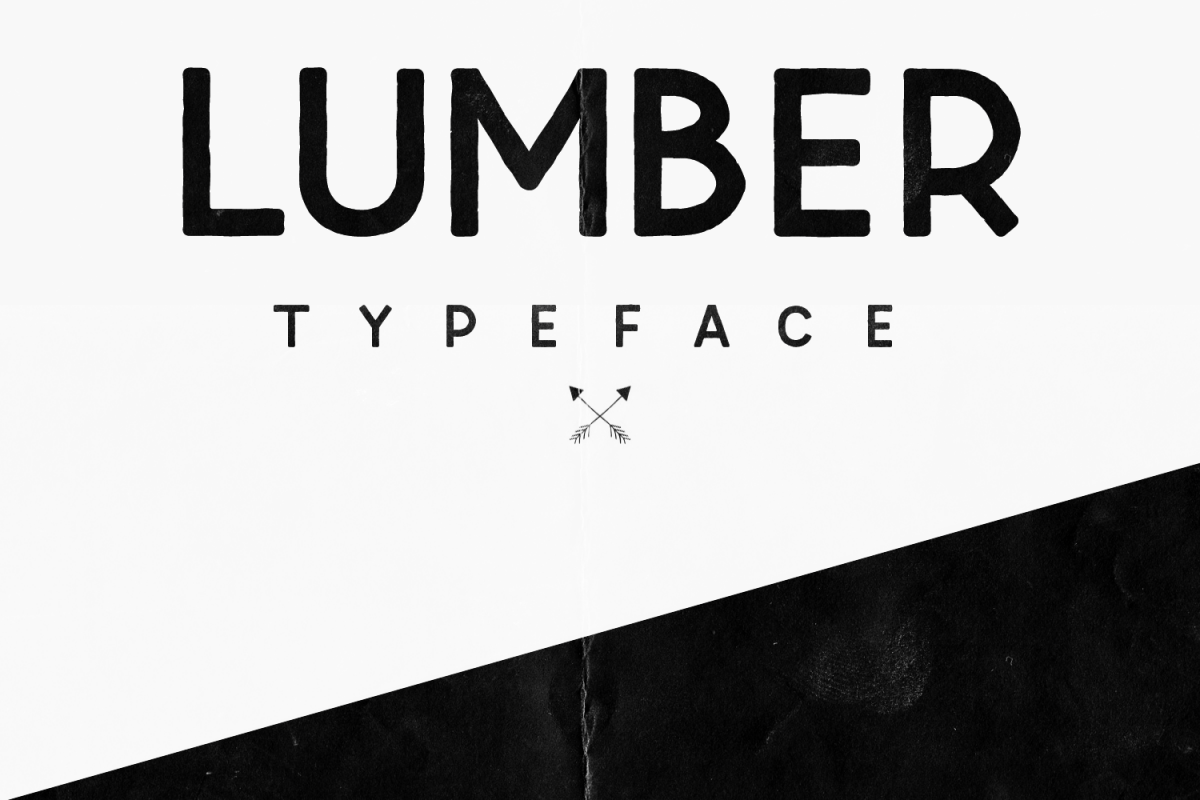 Lumber Typeface example image 1