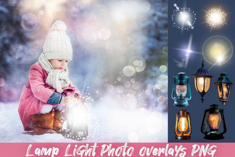 Photo overlays Photoshop lamp light clipart png lantern example image 1