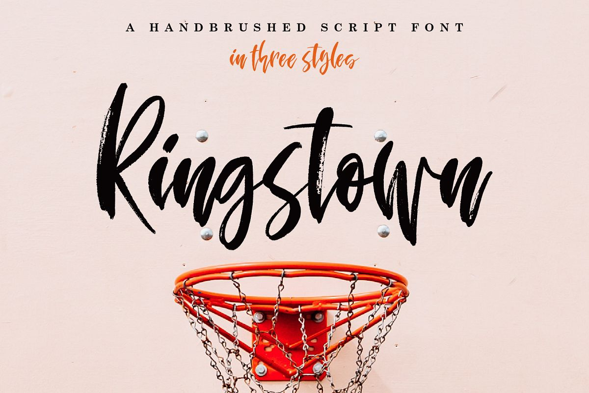 Ringstown Font Pack example image 1