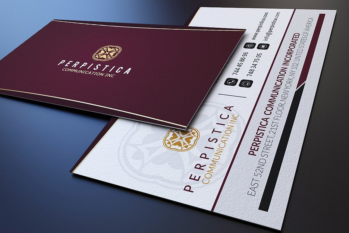 Elegant Business Card example image 1