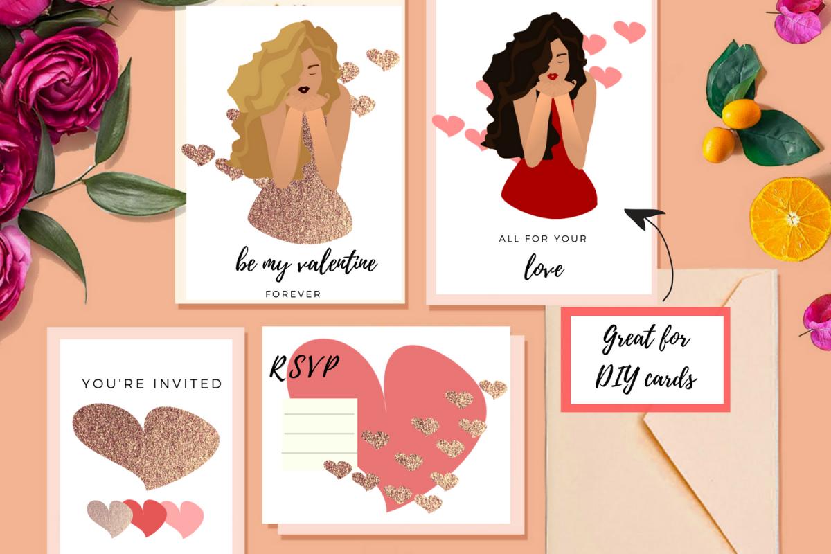 Valentine Crush Clip Art example image 1