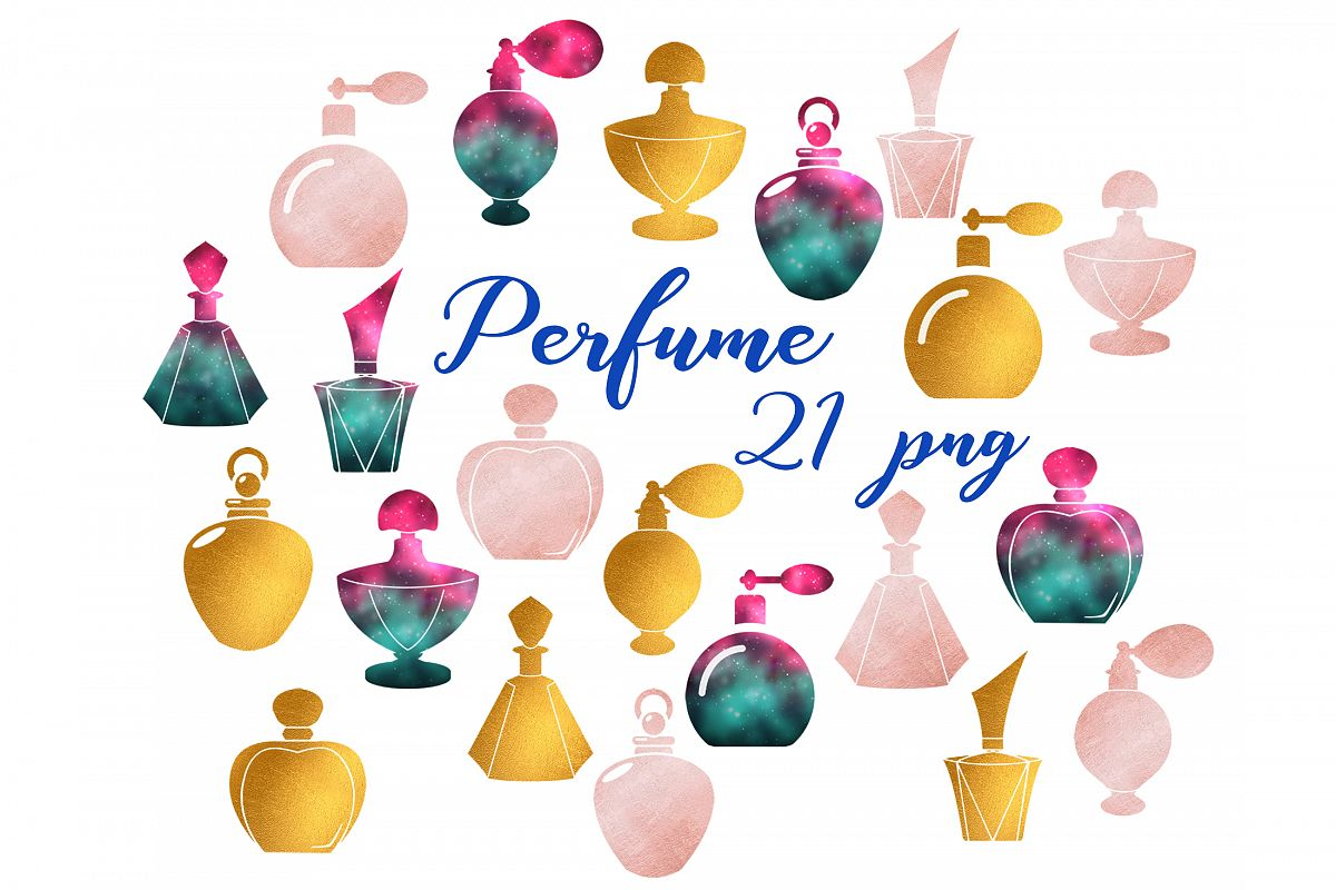 Perfume clipart example image 1