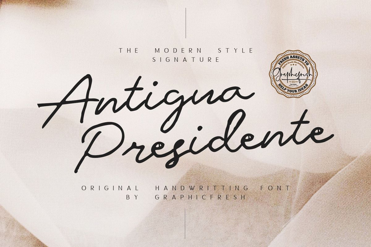 Antigua Presidente example image 1
