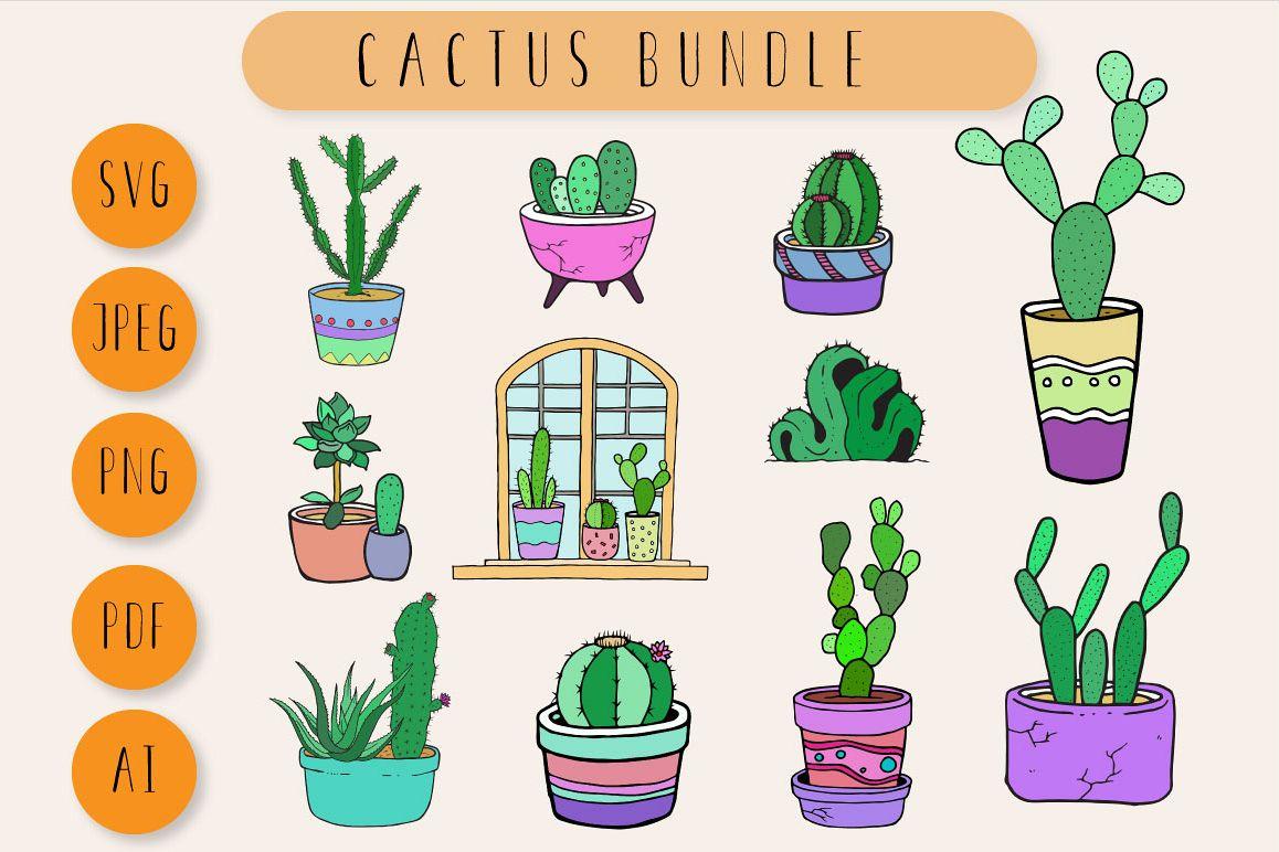 Cactus Bundle example image 1