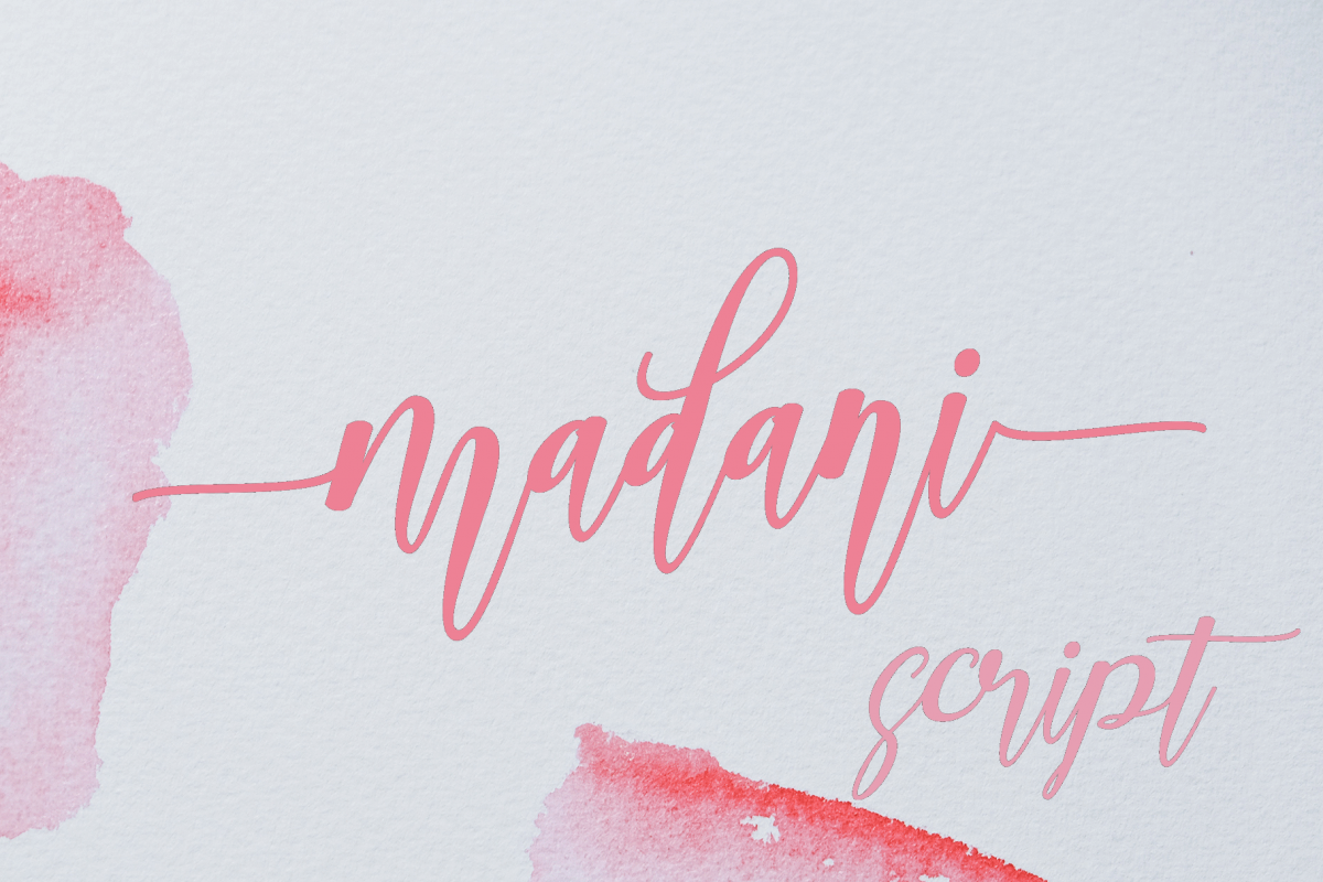 madani script example image 1