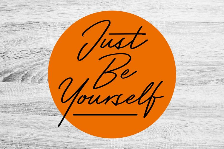 Just Be Yourself example image 1