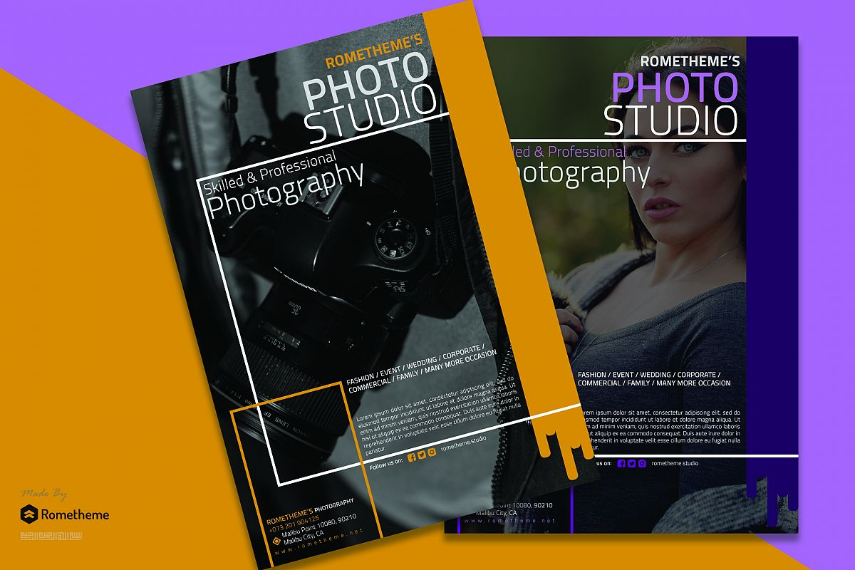 Photography Flyer vol. 01 example image 1
