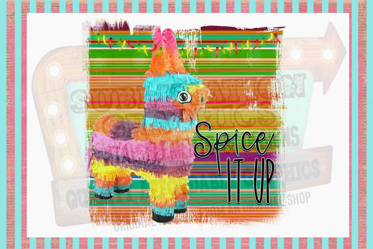 Spice It Up Sublimation Digital Download example image 1