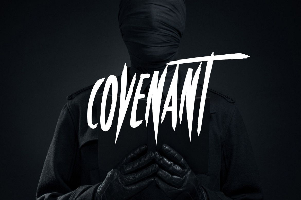 Covenant - Brush Font example image 1