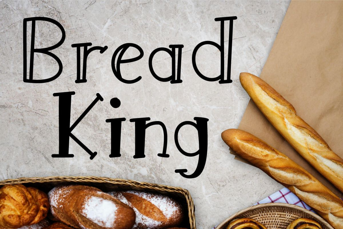 Bread King Font example image 1