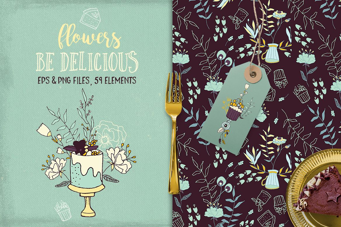 Be Delicious Flowers example image 1