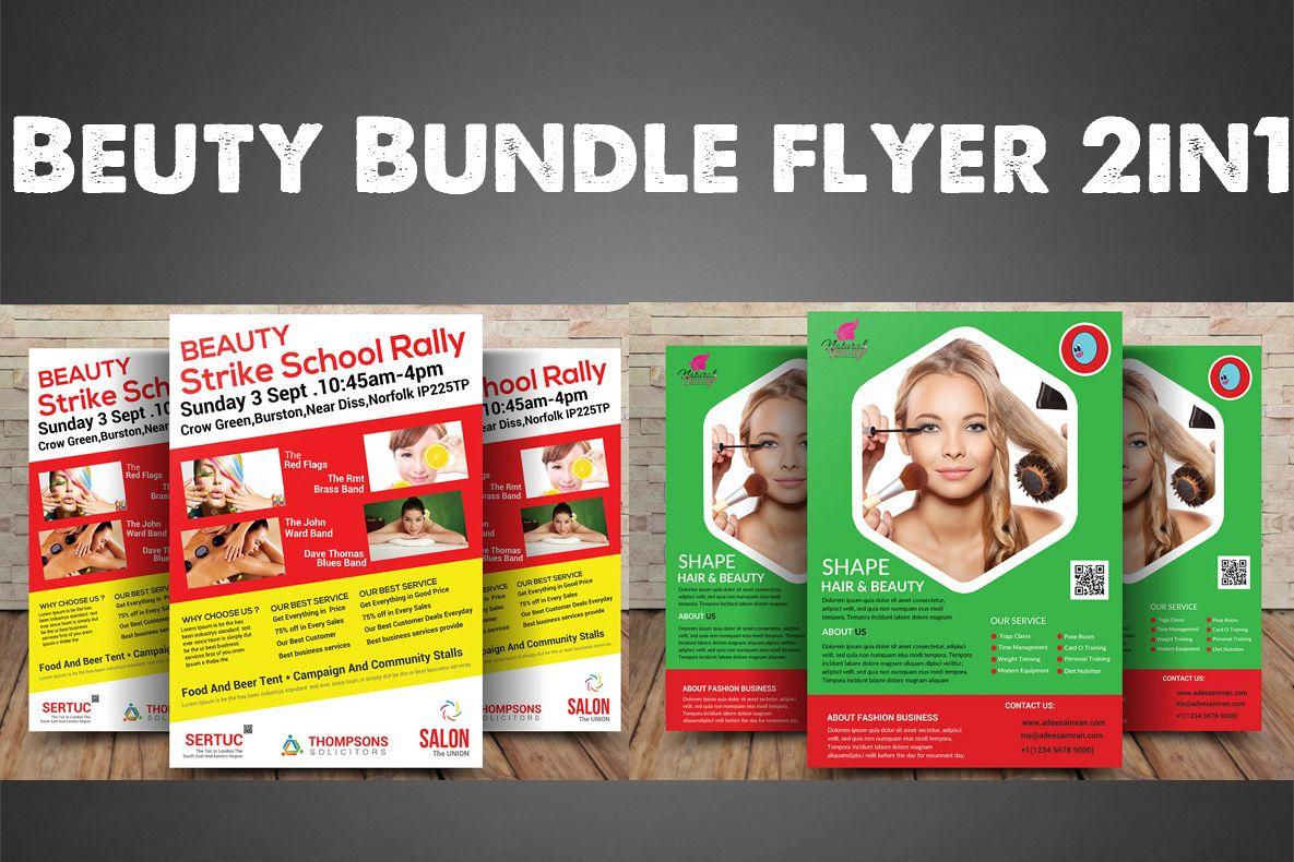 Beuty Bundle Flyer 1in2 example image 1