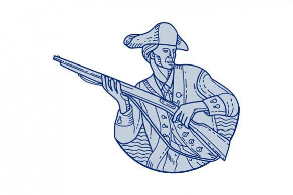 American Patriot Minuteman Rifle Mono Line example image 1