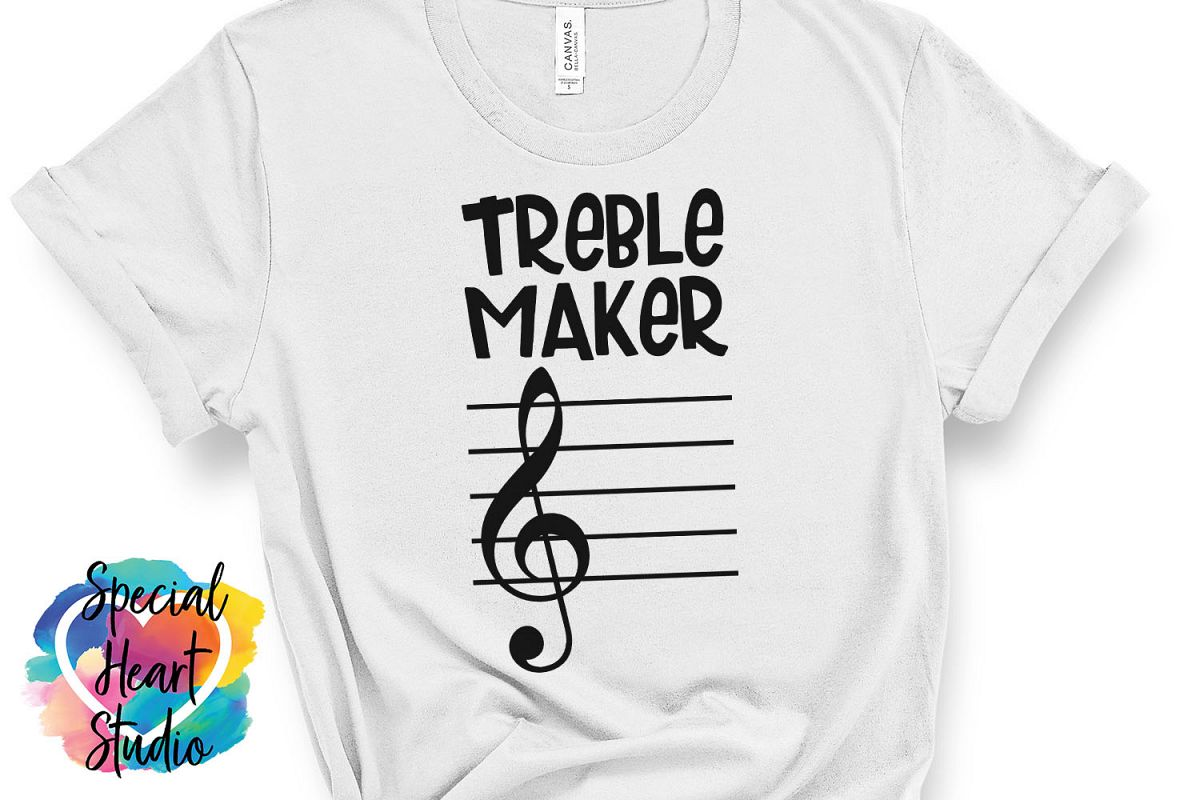 Treble Maker SVG - Music Teacher, Band Director, Orchestra example image 1