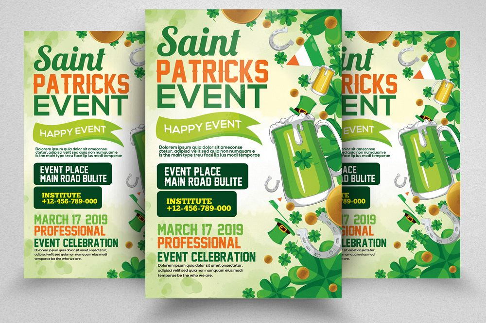 St. Patrick's Day Flyer example image 1