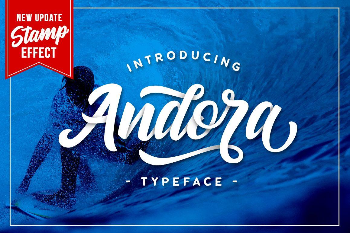 Andora Typeface example image 1