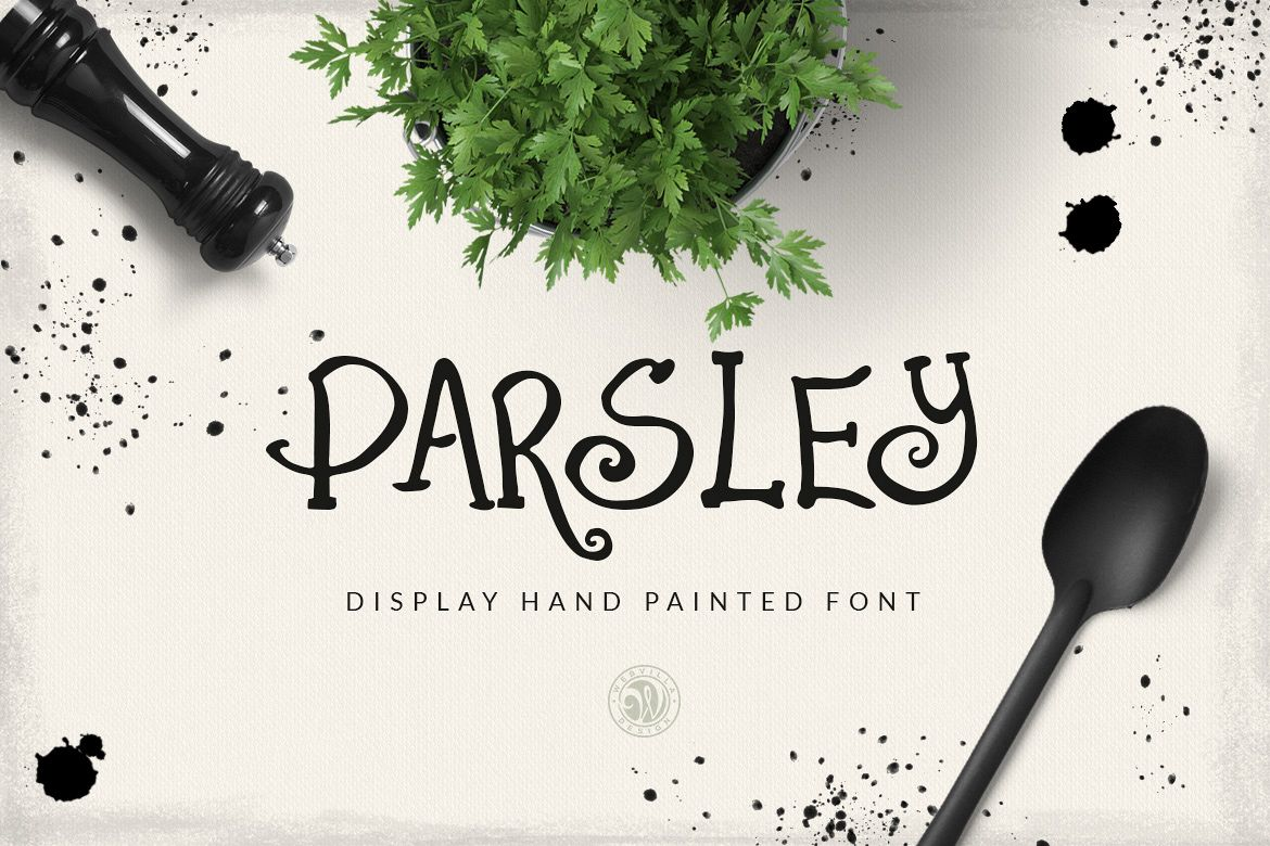 Parsley font example image 1