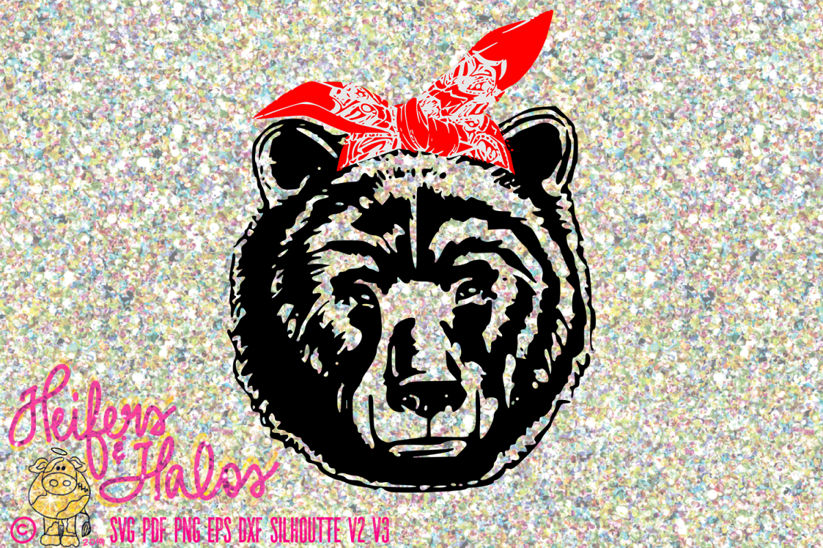Bear with Bandana example image 1