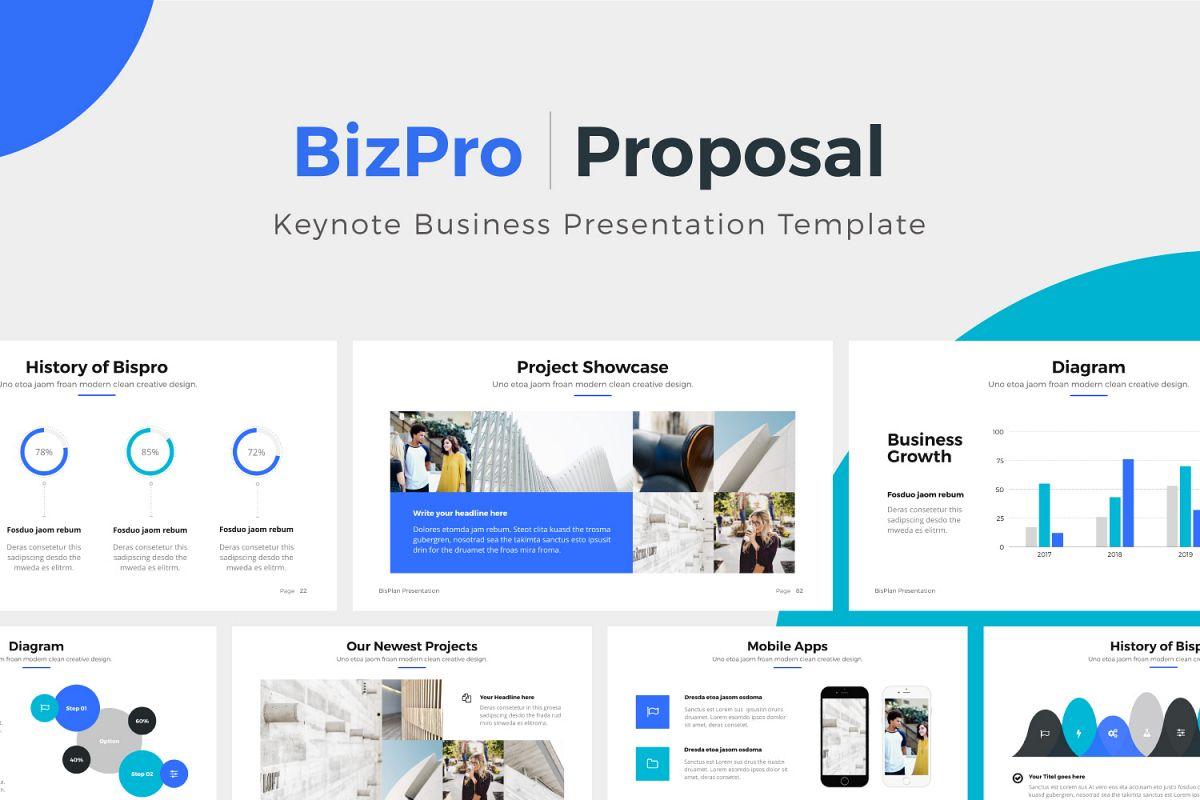 Bizpro proposal keynote template by p design bundles bizpro proposal keynote template example image accmission Gallery