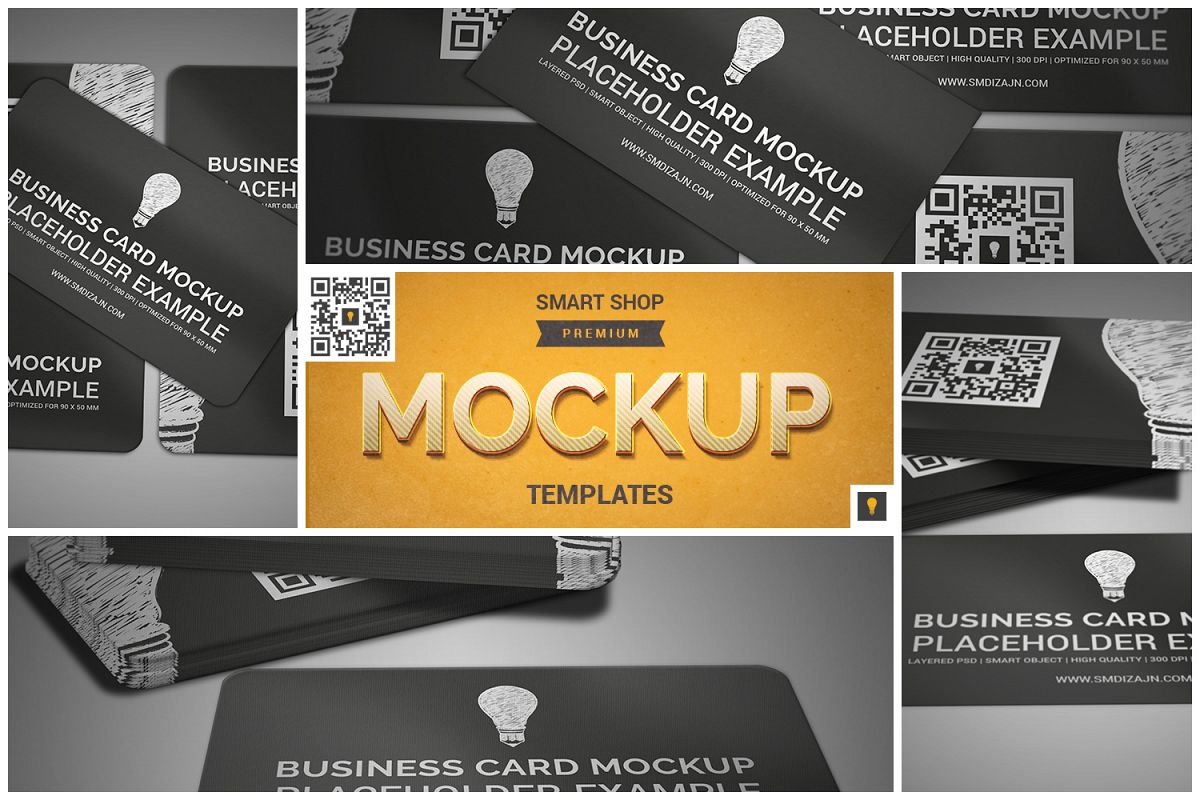 Business card mockup by shocky design design bundles business card mockup example image reheart Choice Image