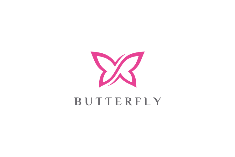 Infinity Butterfly Logo example image 1