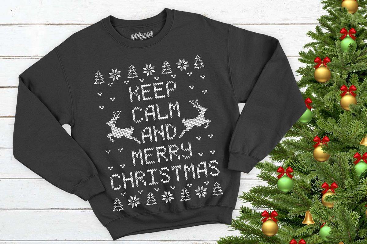 Keep Calm and Merry Christmas Printable