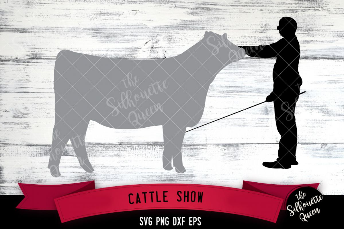 Cattle Show svg file, livestock show svg cut file example image 1