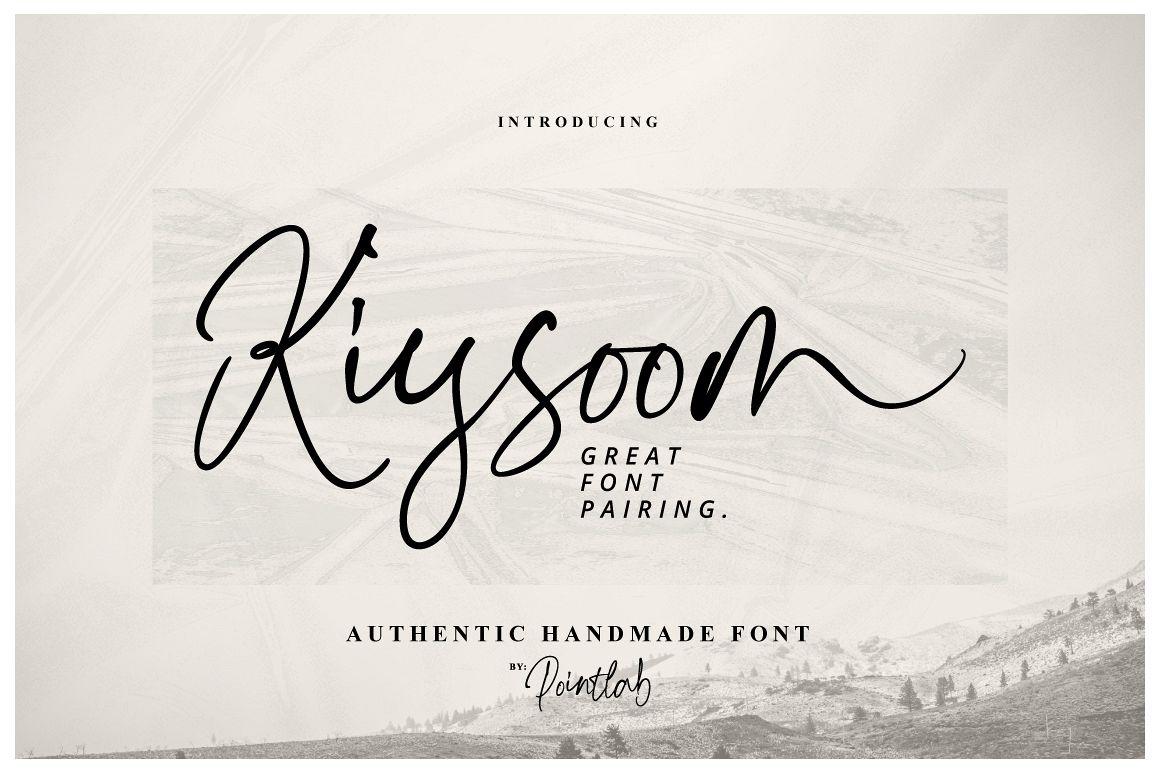 Kiysoom Signature! example image 1