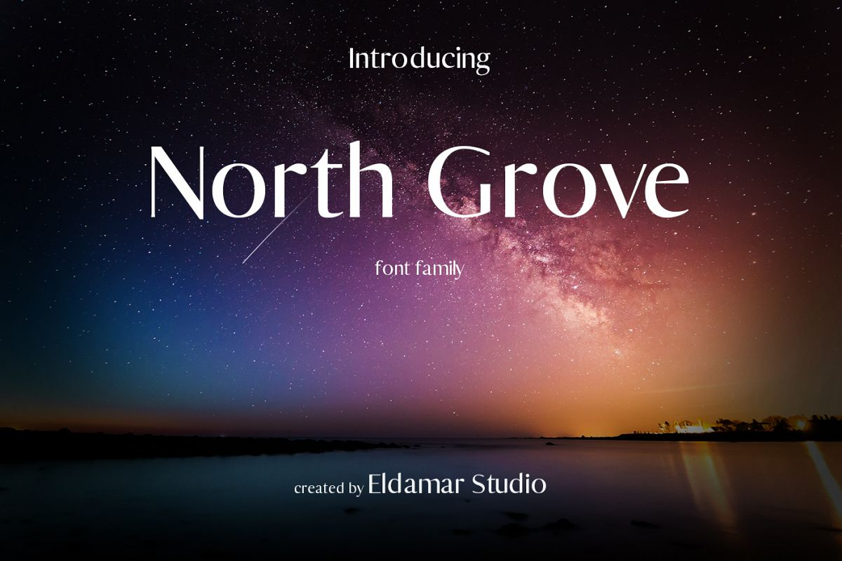 North Grove Font example image 1