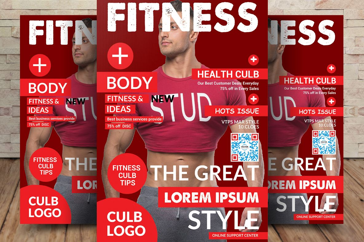 Fitness Flyer Template example image 1