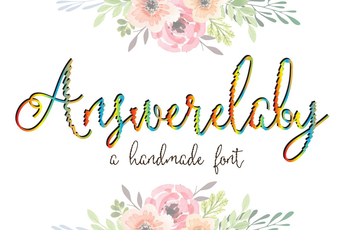 Answerelaby Script Font example image 1